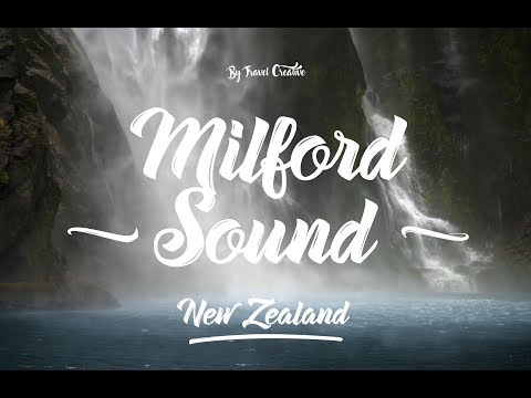 Places to visit in New Zealand - Milford Sound