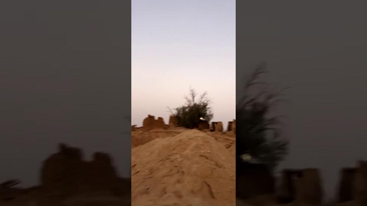 معالم اثرية بالاسياح قصر مارد العباسي واثلة عقاب محيط جذعها 6 امتار ونصف. صالح عياد