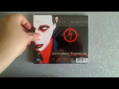 Marilyn Manson Antichrist Superstar CD album UNBOXING