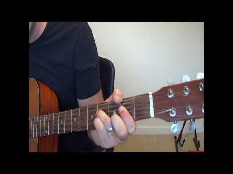 Let your love flow - Guitar Lesson - Key of A