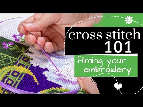Filming your Embroidery | Tuesday Tip