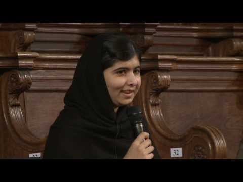 Honorary degree for Malala Yousafzai