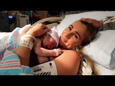 The Birth of My Baby (Labor and Delivery Vlog)