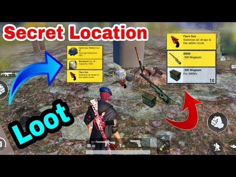PUBG Mobile New Secret Location For Loot | Only 0.00001% People Know This Secret Location