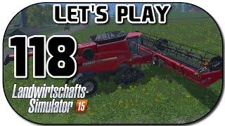 Let's Play Landwirtschafts Simulator 2015 Part 118 Der neue Mähdrescher!