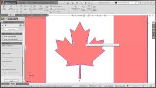 SolidWorks Tutorial Autotrace a Sketch Picture