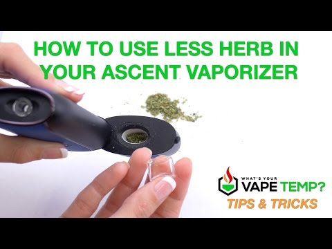 Tips & Tricks – How To Use Less Herb in Your Ascent Vaporizer