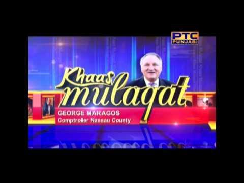 Khaas Mulaqat with George Maragos , Comptroller Nassau County