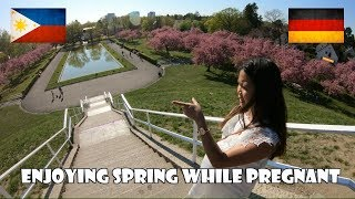 FILIPINA in GERMANY | ENJOYING SPRING WHILE PREGNANT | BABY IS COMING SOON!