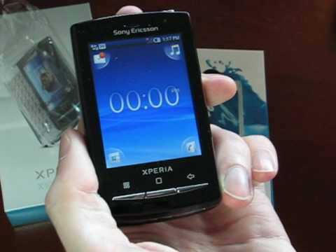 Sony Ericsson Xperia X10 Mini Pro Unboxing and Hands-On Impressions