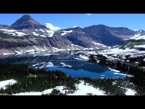 Canada glacier melting: diverted in the rare case of river piracy.