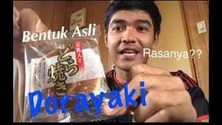 Makan Dorayaki Asli Dari Jepang