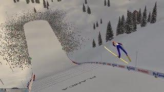 Sprawdzam styl motyla/dżdżownicy - Deluxe Ski Jump 4 / 15.01.2020 (#1)