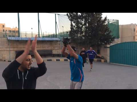 Before the match between zarqa and amman