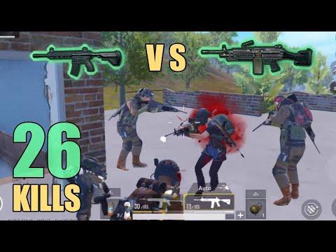 M416 VS M249 - WHICH ONE WINS? | 26 KILLS | SOLO SQUAD | PUBG Mobile