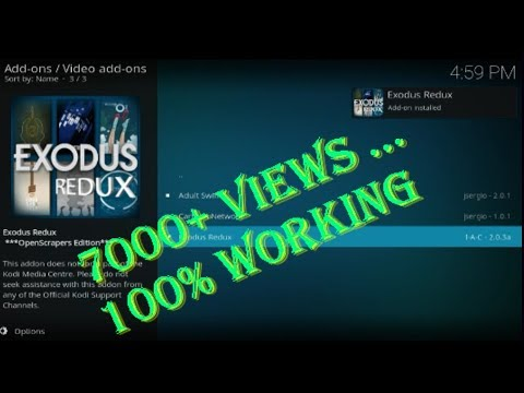 2019 March!!! New update how to install Exodus Redux Kodi 18 Leia