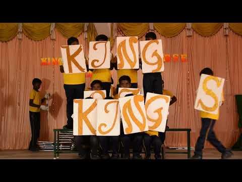 TILE PATTERN BY KING OF KINGS SCHOOL - CBSE STUDENTS - THOOTHUKUDI