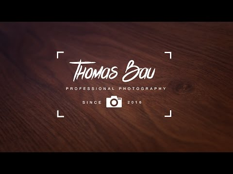 How To Design A Photographer Logo in Photoshop