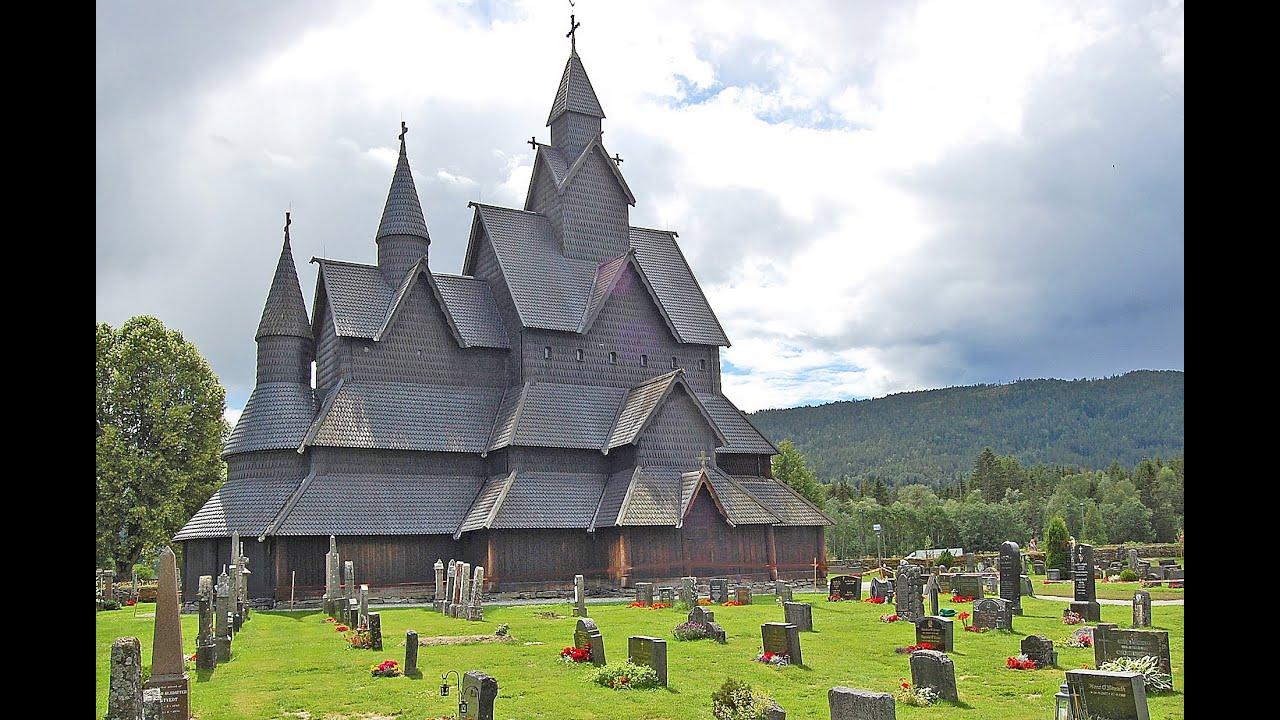 Norvegia chiese di legno stave churches youtube for Case di legno romania