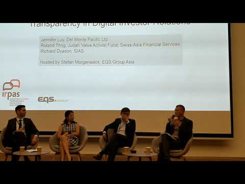 Transparency in Digital Investor Relations - Discussion Panel