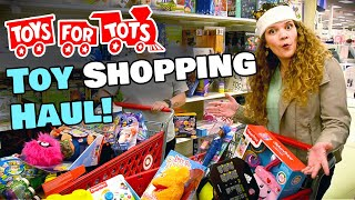 Toy Shopping Haul For Toys For Tots! 🧸 Giving Tuesday 2019│vlog