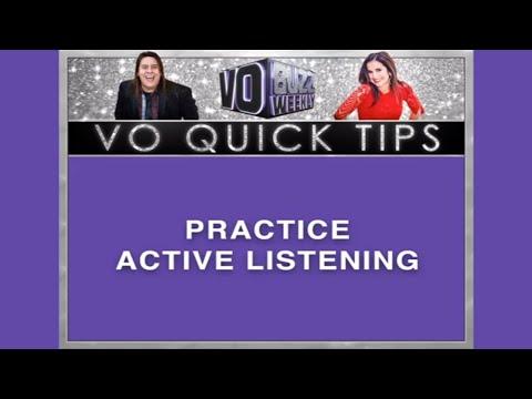 Crispin Freeman -  Practice Active Listening