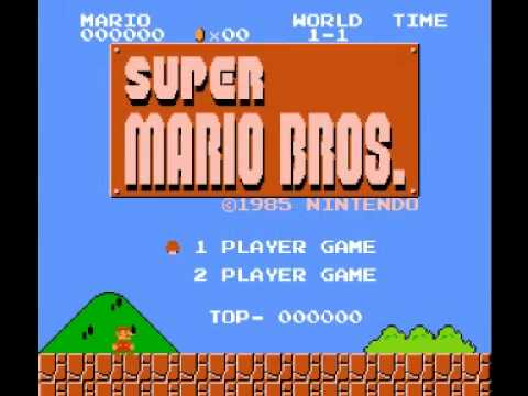 Super Mario Bros (NES) Music - Star Theme