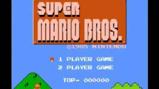 Super Mario Bros (NES) Music - Star Theme