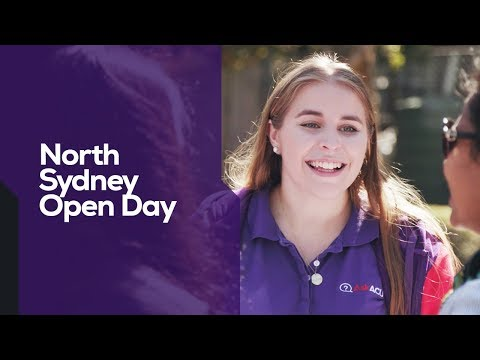 ACU I North Sydney Open Day I 2019 Highlights