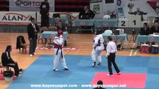 +73kg Sengul Dinc vs Merve Mirac Ozcan (2013 Ümitler TKD Milli Takım Seçmesi)