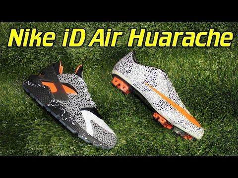 Nike iD Air Huarache CR7 Safari Review + On Feet Vloggest