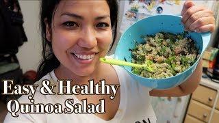 Cooking Wednesday: 健康でお腹に優しい簡単キヌアサラダ