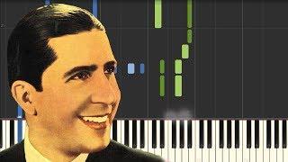 Por una Cabeza - Carlos Gardel [Piano Tutorial] (Synthesia)