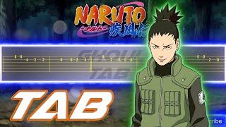 Naruto Shippuden Opening 4 - Closer (Guitar Tab 譜 Tutorial)