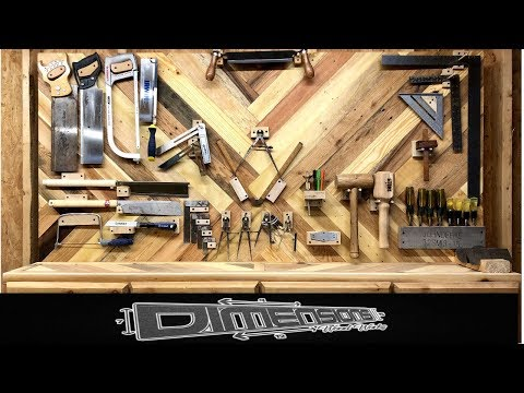 Tool Wall // DIY // From Pallet Wood