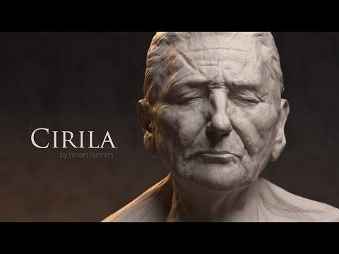 Cirila: Blender Sculpting Timelapse