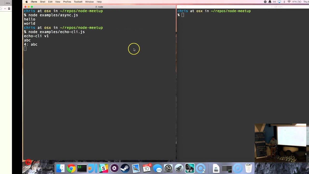 WSDL Meetup: Node js with Chris B