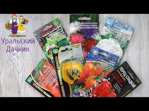 Серия семян «Уральский дачник»: гибриды и сорта, проверенные Уралом!