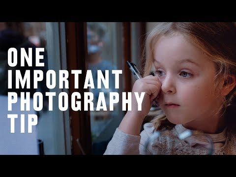 1 KEY TIP to becoming a BETTER PHOTOGRAPHER