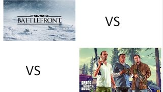 Star Wars Battlefront vs GTA V max Setting 1080p