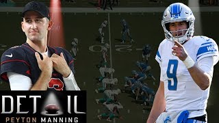 NFL Legend Peyton Manning analyzes quarterbacks Matthew Stafford, and Josh Rosen. Subscribe to NFL: http://j.mp/1L0bVBu Check out our other channels: ...