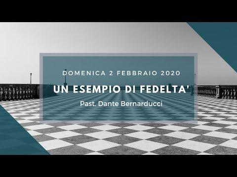 Un esempio di fedeltà - Domenica 2 Febbraio 2020