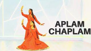 Aplam Chaplam - Azaad Songs | Old Song Recreation | Ft. Prachi Joshi & Amrita Joshi | Dancing Amrita