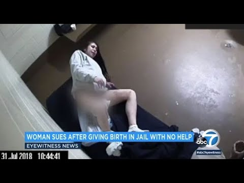 woman-gave-birth-in-jail-cell-with-no-medical-help,-lawsuit-says-|-abc7
