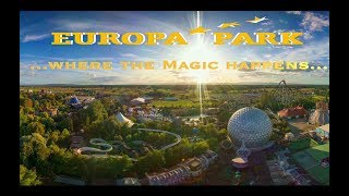 The very Best of EUROPAPARK - Where the Magic happens... Aerial Flying View - DJI Phantom 3 & OSMO