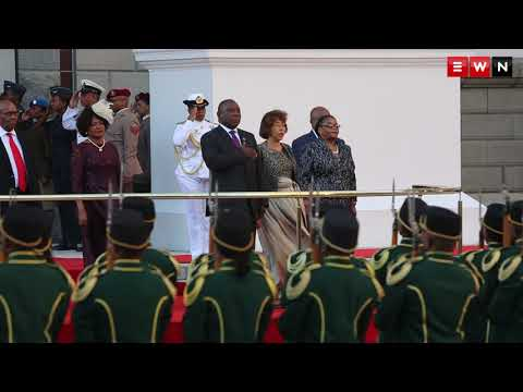 Cyril Ramaphosa arrives for first Sona as president