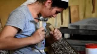видео Резьба и чеканка по камню в Москве. Заказ резьбы по натуральному камню