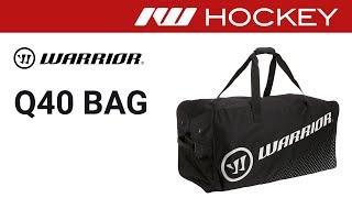 Warrior Q40 Hockey Bag Review