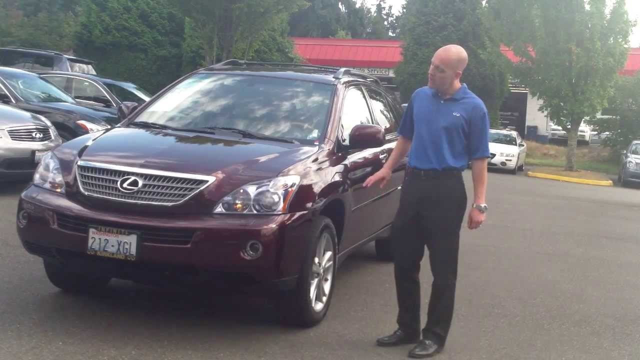 Review Why A 2008 Lexus Rx400h Under 9000 Is Such An Intelligent You