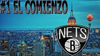 My GM EN ESPAÑOL BROOKLYN NETS NBA 2k18 Ep 1